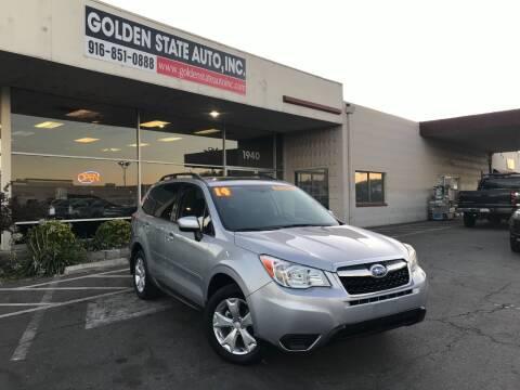 2014 Subaru Forester for sale at Golden State Auto Inc. in Rancho Cordova CA