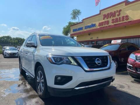 2018 Nissan Pathfinder for sale at Popas Auto Sales in Detroit MI