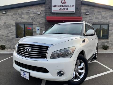 2011 Infiniti QX56 for sale at GREENVILLE AUTO & RV in Greenville WI