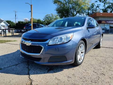 2014 Chevrolet Malibu for sale at Lamarina Auto Sales in Dearborn Heights MI