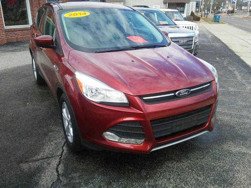 2014 Ford Escape for sale at BELLEFONTAINE MOTOR SALES in Bellefontaine OH