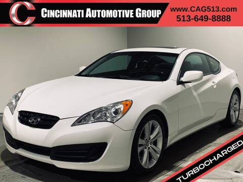 2012 Hyundai Genesis Coupe for sale at Cincinnati Automotive Group in Lebanon OH