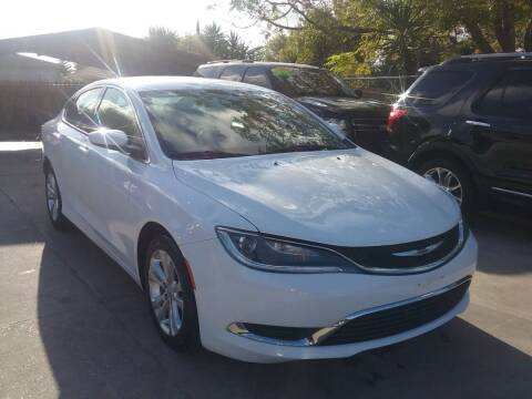 2015 Chrysler 200 for sale at Express AutoPlex in Brownsville TX