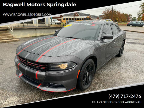 2016 Dodge Charger for sale at Bagwell Motors Springdale in Springdale AR
