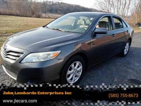 2011 Toyota Camry for sale at John Lombardo Enterprises Inc in Rochester NY