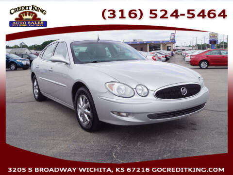 2005 Buick LaCrosse for sale at Credit King Auto Sales in Wichita KS