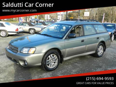 2003 Subaru Outback for sale at Saldutti Car Corner in Gilbertsville PA