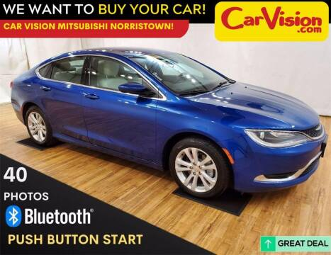 2016 Chrysler 200 for sale at Car Vision Mitsubishi Norristown in Trooper PA