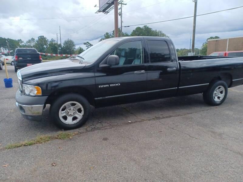 2002 Dodge Ram Pickup 1500 for sale at Prospect Motors LLC in Adamsville AL