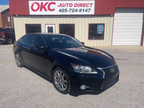 2015 Lexus GS 350 for sale at OKC Auto Direct, LLC in Oklahoma City OK