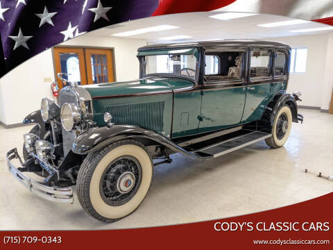 1930 LaSalle 340 Sedan 5 Passenger for sale at Cody's Classic Cars in Stanley WI