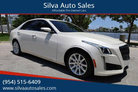 2014 Cadillac CTS for sale at Silva Auto Sales in Pompano Beach FL