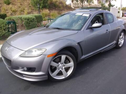 2004 Mazda RX-8 for sale at Trini-D Auto Sales Center in San Diego CA