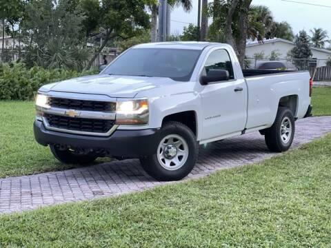2016 Chevrolet Silverado 1500 for sale at Citywide Auto Group LLC in Pompano Beach FL
