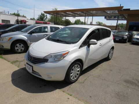 2014 Nissan Versa Note for sale at Nile Auto Sales in Denver CO