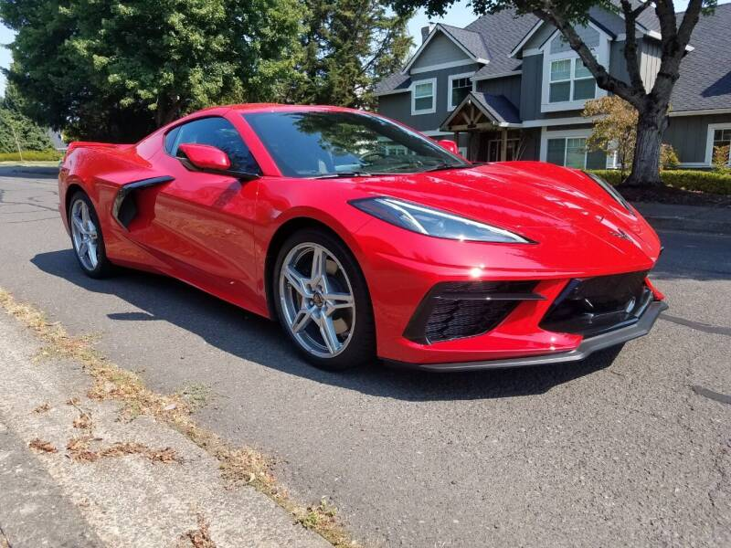 2020 Chevrolet Corvette for sale at Chuck Wise Motors in Portland OR