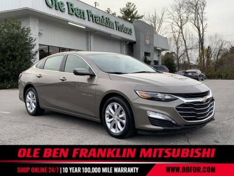 2020 Chevrolet Malibu for sale at Ole Ben Franklin Mitsbishi in Oak Ridge TN