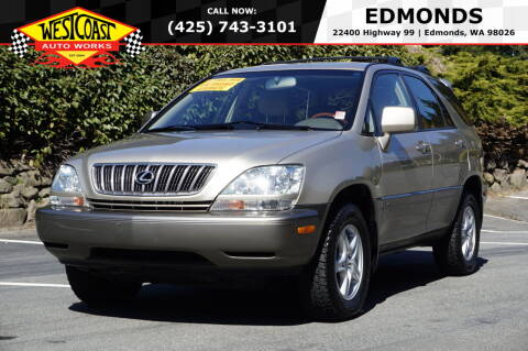 2003 Lexus RX 300 for sale at West Coast Auto Works in Edmonds WA
