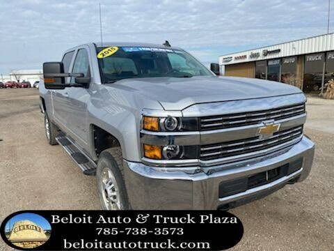 2015 Chevrolet Silverado 2500HD for sale at BELOIT AUTO & TRUCK PLAZA INC in Beloit KS