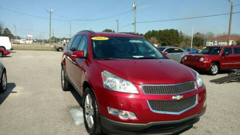 2012 Chevrolet Traverse for sale at Kelly & Kelly Supermarket of Cars in Fayetteville NC