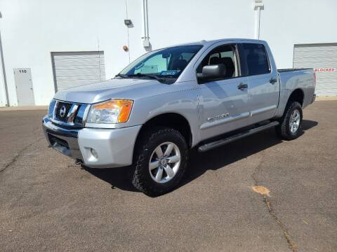 2014 Nissan Titan for sale at NEW UNION FLEET SERVICES LLC in Goodyear AZ