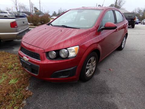 2012 Chevrolet Sonic for sale at Creech Auto Sales in Garner NC