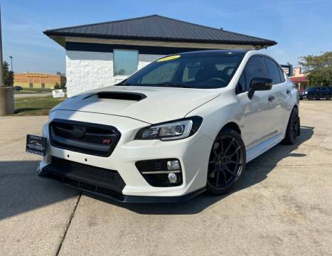 2016 Subaru WRX for sale at Auto House of Bloomington in Bloomington IL