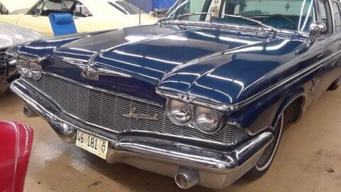 1960 Chrysler Imperial for sale at Naperville Auto Haus Classic Cars in Naperville IL