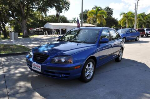 2004 Hyundai Elantra for sale at STEPANEK'S AUTO SALES & SERVICE INC. in Vero Beach FL