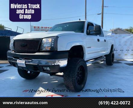 2006 Chevrolet Silverado 2500HD for sale at Rivieras Truck and Auto Group in Chula Vista CA