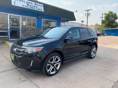 2014 Ford Edge for sale at Island Auto Sales in Colorado Springs CO