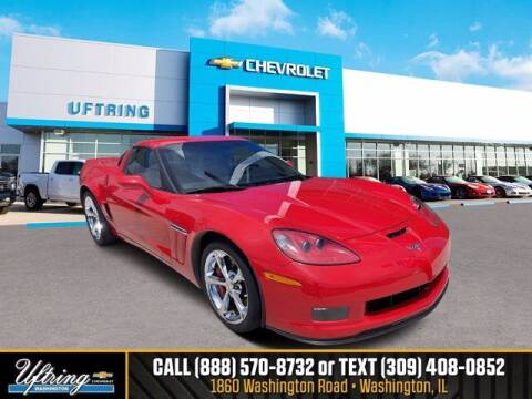 2013 Chevrolet Corvette for sale at Gary Uftring's Used Car Outlet in Washington IL