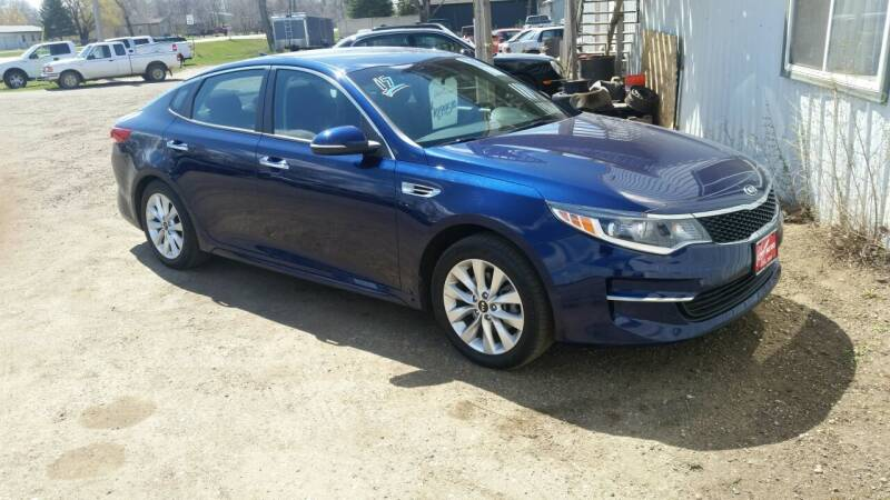 2017 Kia Optima for sale at Ron Lowman Motors Minot in Minot ND