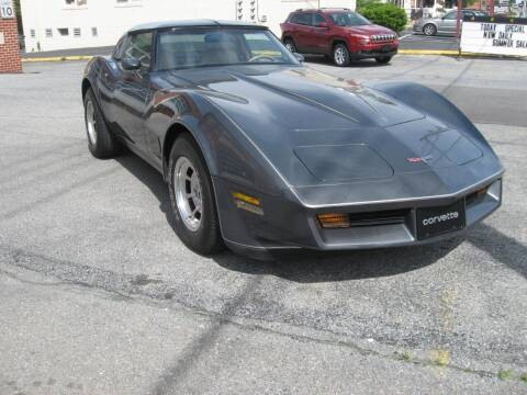 1981 Chevrolet Corvette for sale at Jacksons Auto Sales in Landisville PA