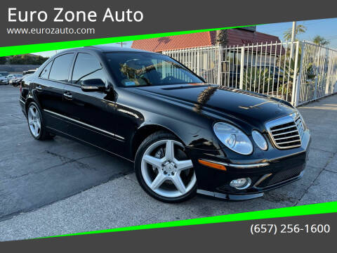 2007 Mercedes-Benz E-Class for sale at Euro Zone Auto in Stanton CA