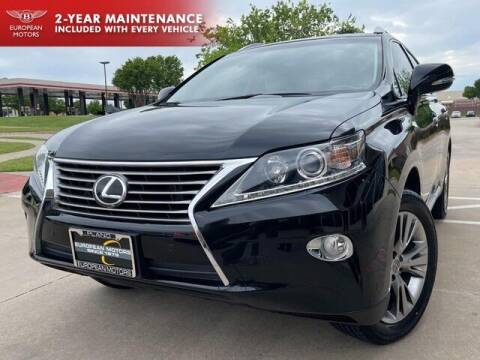 2013 Lexus RX 350 for sale at European Motors Inc in Plano TX