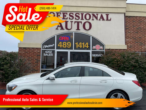 2017 Mercedes-Benz CLA for sale at Professional Auto Sales & Service in Fort Wayne IN