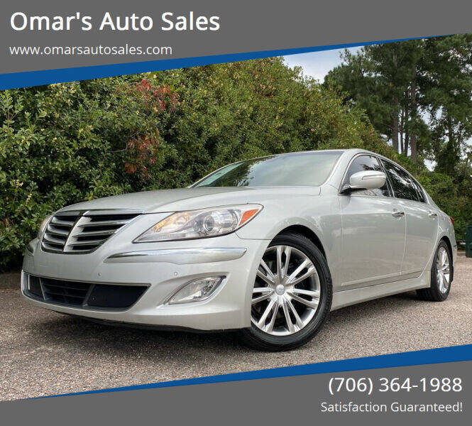 2013 Hyundai Genesis for sale at Omar's Auto Sales in Martinez GA