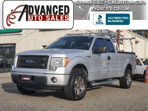 2013 Ford F-150 for sale at Advanced Auto Sales in Tewksbury MA