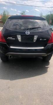 2006 Nissan Murano for sale at GDT AUTOMOTIVE LLC in Hopewell NY