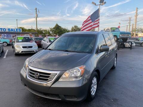 2008 Honda Odyssey for sale at KD's Auto Sales in Pompano Beach FL