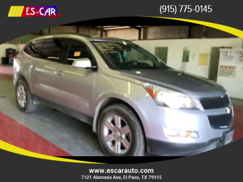 2010 Chevrolet Traverse for sale at Escar Auto in El Paso TX