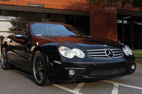 2005 Mercedes-Benz SL-Class for sale at Team One Motorcars, LLC in Marietta GA