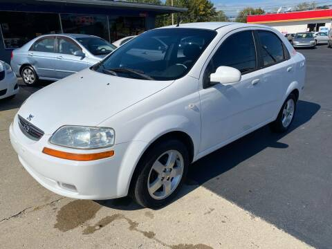 2006 Chevrolet Aveo for sale at Wise Investments Auto Sales in Sellersburg IN