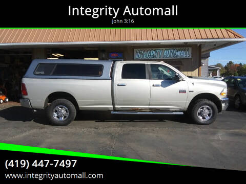 2010 Dodge Ram Pickup 2500 for sale at Integrity Automall in Tiffin OH