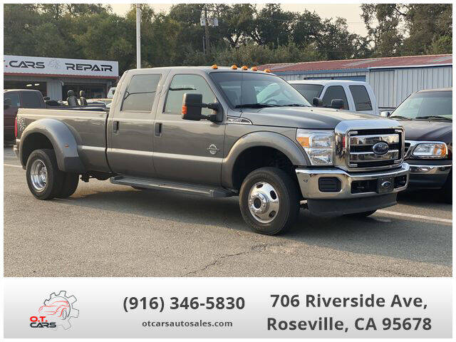 2013 Ford F-350 Super Duty for sale at OT CARS AUTO SALES in Roseville CA