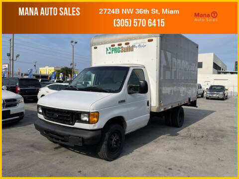2006 Ford E-Series Chassis for sale at MANA AUTO SALES in Miami FL