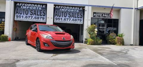 2013 Mazda MAZDASPEED3 for sale at Affordable Imports Auto Sales in Murrieta CA