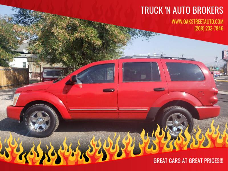 2005 Dodge Durango for sale at Truck 'N Auto Brokers in Pocatello ID
