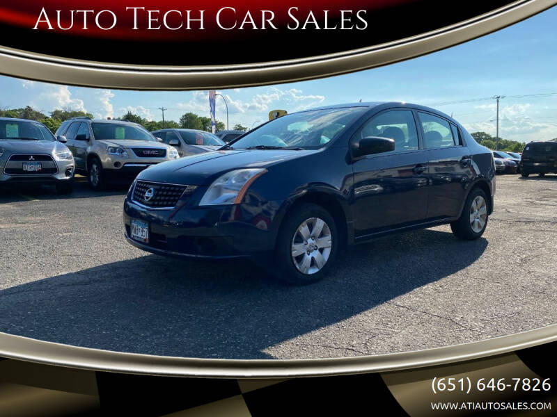 2007 Nissan Sentra for sale at Auto Tech Car Sales in Saint Paul MN